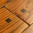 Rehmeyer Old Trail Floors: Rustic Walnut with Wood Pegs
