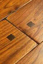Rehmeyer Old Trail Floors: Rustic Walnut with Wood Pegs