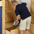 bunk stairs with built in drawers maxtrix