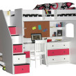 Multitasking Pieces: Kids Beds with Study Space
