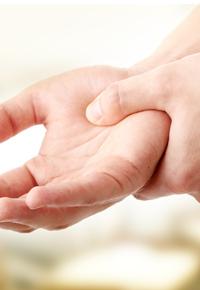 aching hand