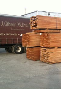 ipe in mcilvain lumberyard