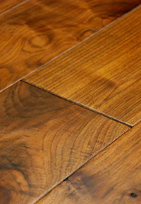 Rehmeyer Pioneer Collection: Walnut Hardwood Flooring with Microbevel