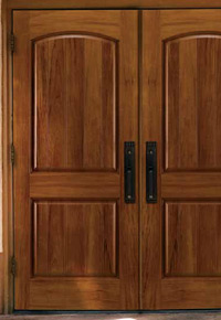 Doors made of Spanish Cedar