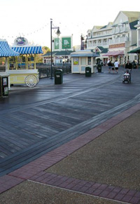 Ipe boardwalk in Walt Disney World