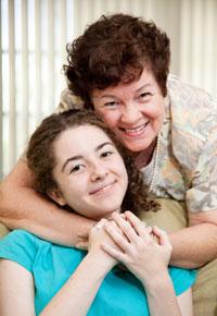 love for granddaughter