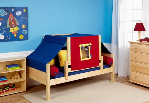 boys toddler tent bed by maxtrix & The Bedroom Sourceu0027s Versatile Maxtrix Furniture for Kids