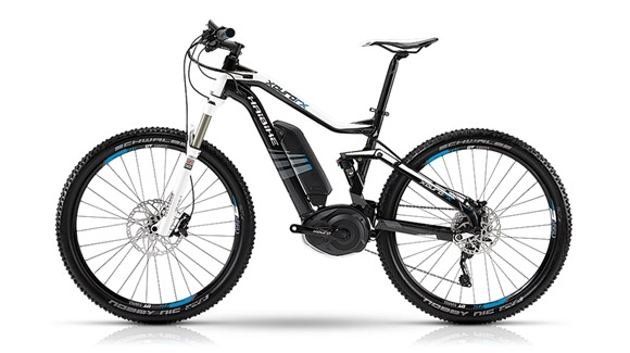 Haibike Xduro FS RX 27.5 Electric Mountain Bike - motostrano.com