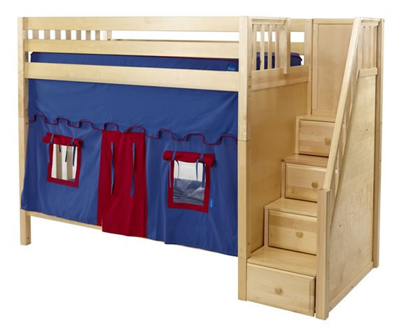 maxtrix bunk with play tent