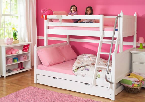 Maxtrix twin over full bunk bed