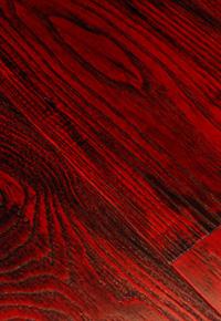 Rehmeyer Extreme Custom: Dramatic Red Ash hardwood flooring