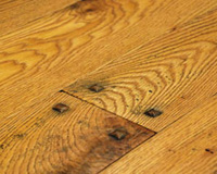 Rehmeyer Hand Scraped Rustic Red Oak Hardwood Floor