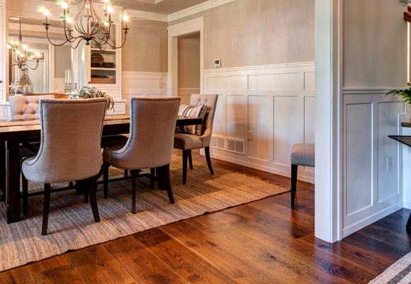 rehmeyer floor in dining room