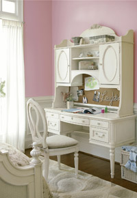 gabriella vanity desk hutch