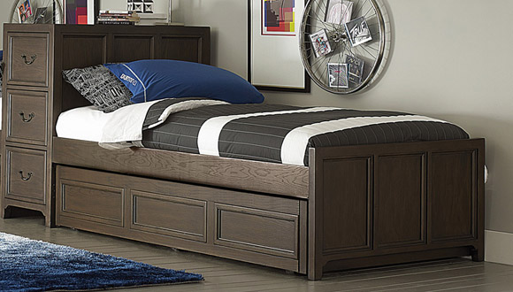 kenwood super storage bed twin