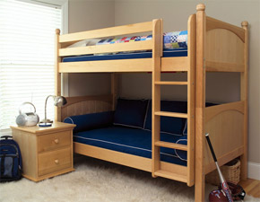maxtrix boys bunk bed ladder
