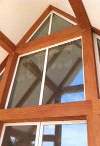 millwork interior beams