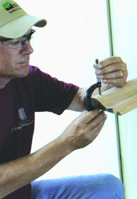 Millwork quality control at J Gibson McIlvain