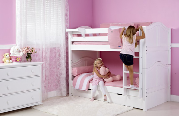 maxtrix girls bunk with dresser