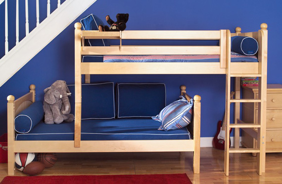 Multiple configurations possible with Maxtrix bunk beds