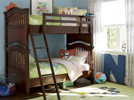 Classics 4.0 Cherry Bunk Bed (Twin over Twin)