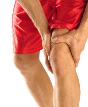 experiencing knee pain