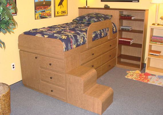 Mica Mini Loft Bed