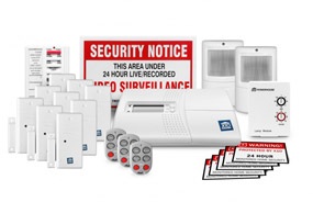 x10 home security kit 23 piece