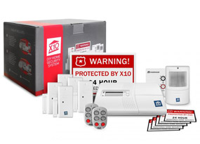 x10 home security kit large