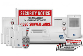 x10 sc1200 16 piece home security system