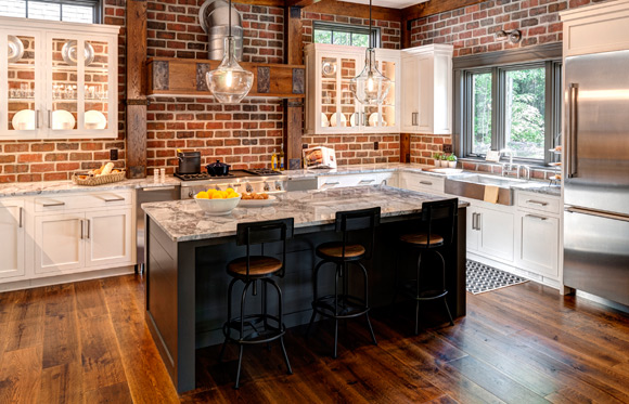 Pennsylvania Street of Dreams home with Rehmeyer flooring