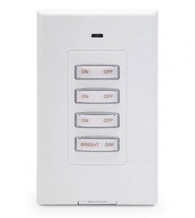 SS13A Slimline Decorator Wireless Switch