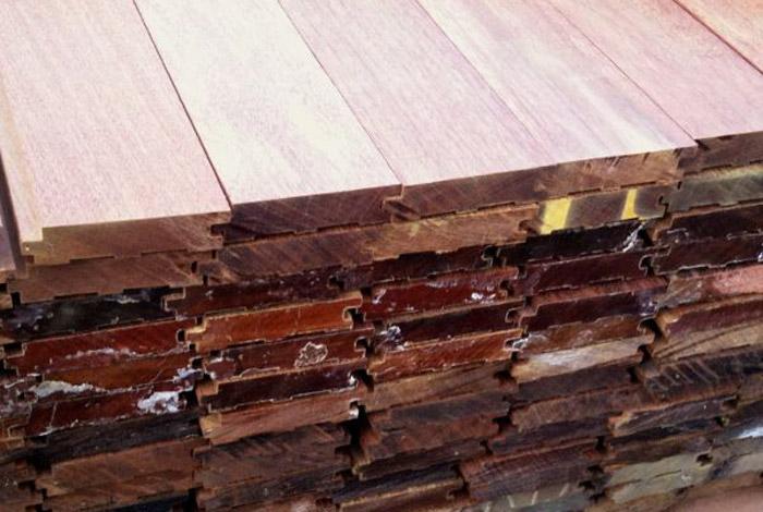 grooved ipe decking boards