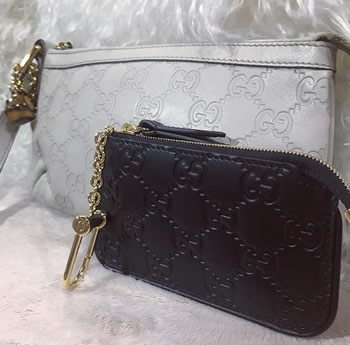 gucci zipper pouch and key pouch