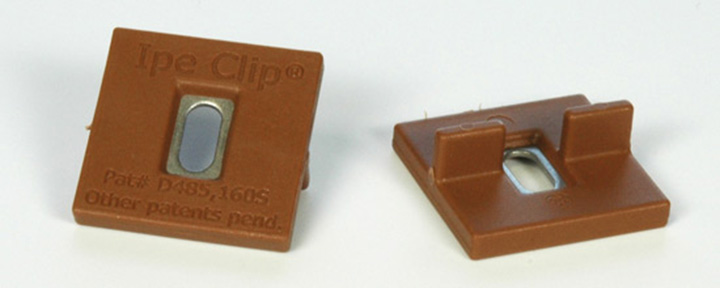 extreme ipe deck clips